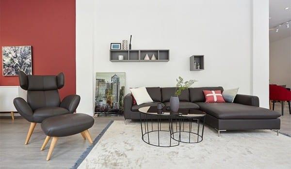 cách chọn ghế sofa da phòng khách