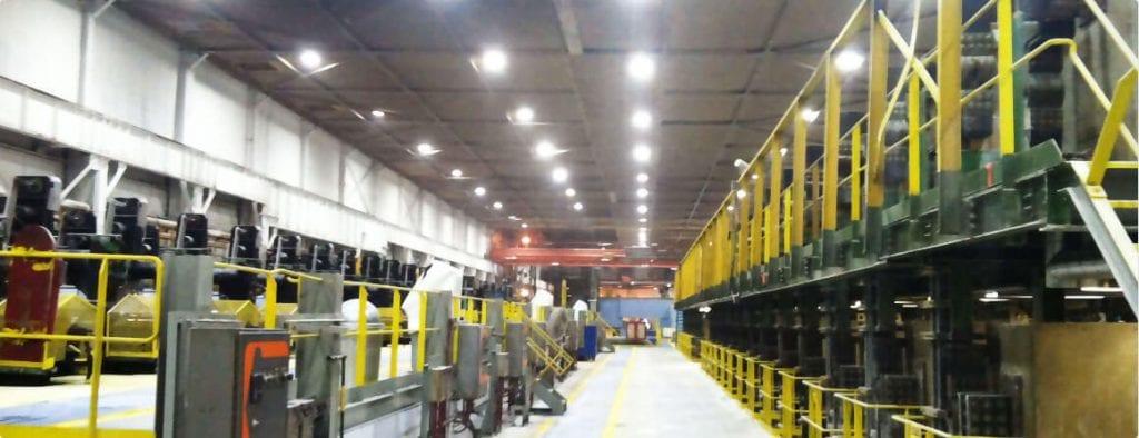 chất lượng ảnh hưởng báo giá đèn led nhà xưởng