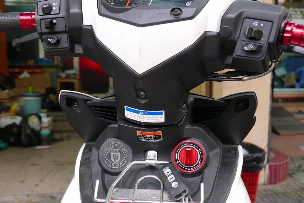 khóa chống trộm xe máy exciter