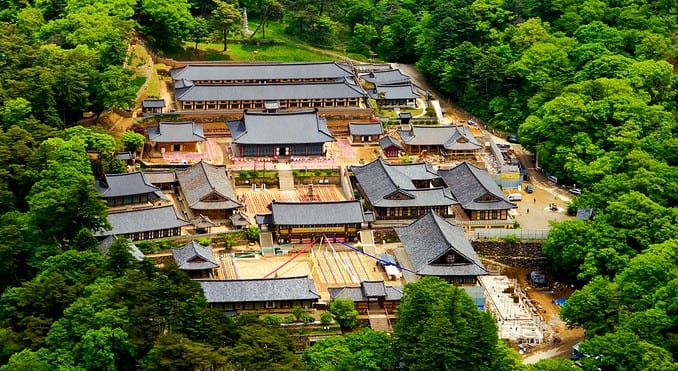 du lịch tự túc với chùa haieinsa