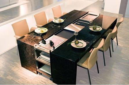 bàn ăn mở rộng chất lượng
