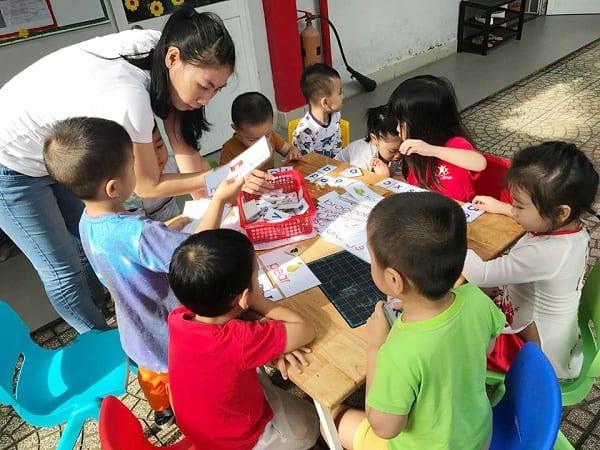 dạy trẻ mẫu giáo kỹ năng