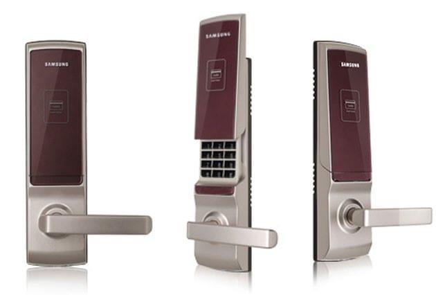 khóa cửa điện tử nhập khẩu samsung