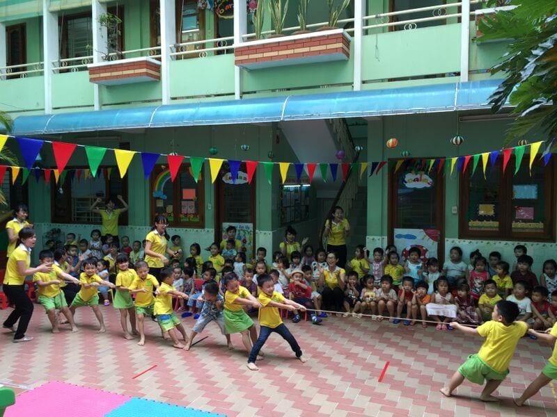 trường mầm non uy tín quận 1 dành cho trẻ