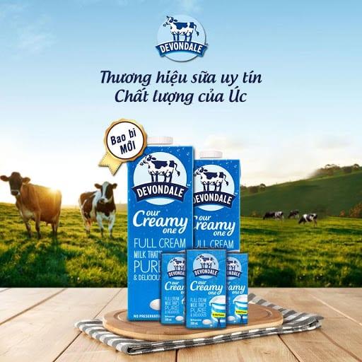 Loại sữa tươi không đường nhập khẩu ngon nhất