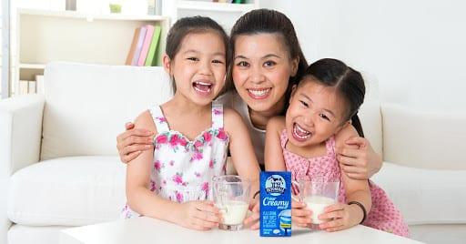 Loại sữa tươi ngon nhất cho trẻ