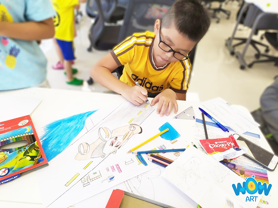 lớp vẽ tranh cho trẻ em