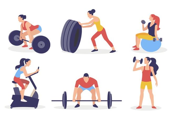Kiên trì tập gym giảm cân