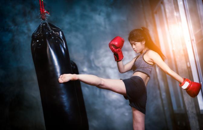 Giảm cân siêu tốc kickfitness còn giúp phòng vệ bản thân