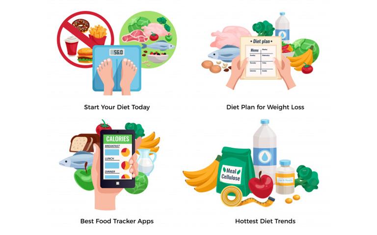 Ăn healthy food để giảm cân