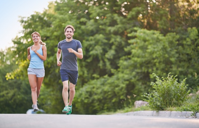 Duy trì thoái quen chạy bộ giảm cân