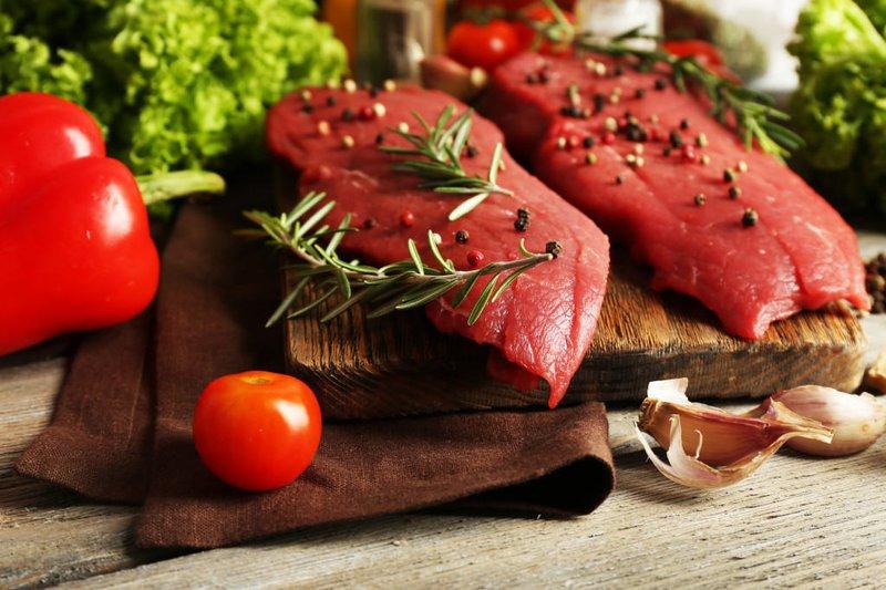 thịt đỏ tươi