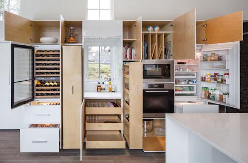 tủ bếp đa năng