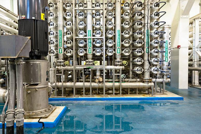hệ thống ro công nghiệp nước